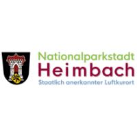 Logo Nationalparkstadt Heimbach. Staatlich anerkannter Luftkurort